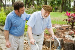 Senior Taking a Walk - Senior Care Services in Los Angeles