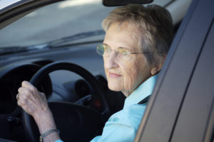 Senior Woman Driving - Los Angeles Home Caregivers Services