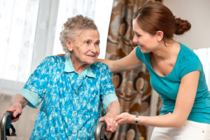 Caregiver and Senior - Los Angeles Senior Home Care