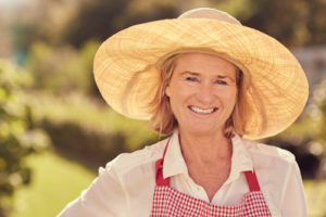 Senior Woman with a Hat - Beverly Hills Senior Care Assisted Living
