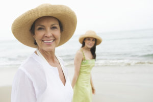Senior on a Beach - Home Care West Hollywood