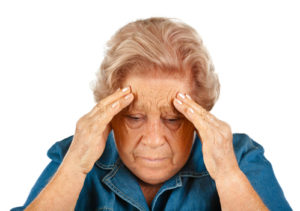 Woman With a Headache - Senior Home Care Los Angeles